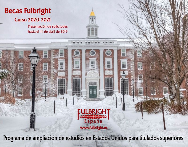 61º convocatoria de bolsas Fulbright